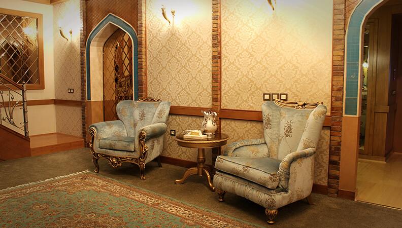 دوبلکس مجلل با طراحی الهام گرفته شده از ایران در دوران اسلام