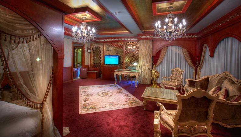 مجلل ترین واحد هتل مجلل درویشی