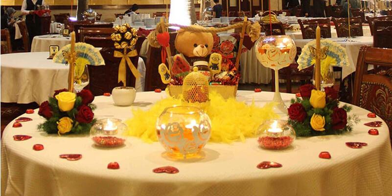 طراحی میز جشن تولد